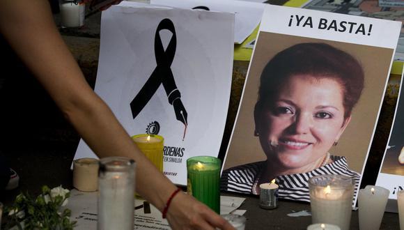 México detiene al autor intelectual del crimen de Miroslava Breach. (AP).