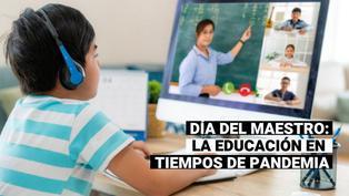 Día del maestro: la COVID-19 y la educación en el Perú