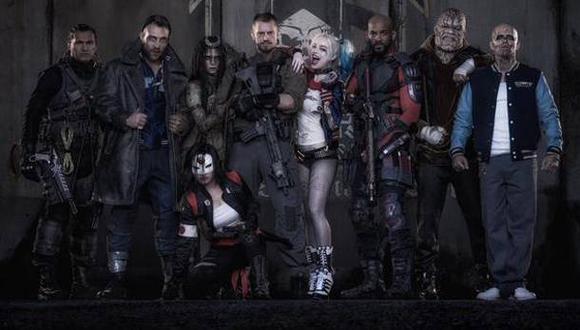 """""""Suicide Squad"""": filtran imágenes del rodaje de la película"""