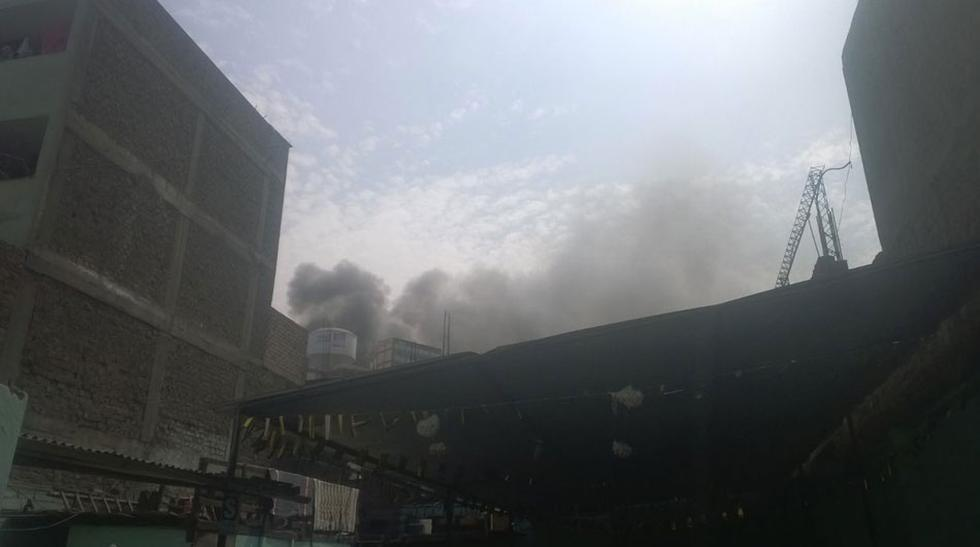 Vía WhatsApp: asi se ve el incendio en el Cerro San Cosme - 1