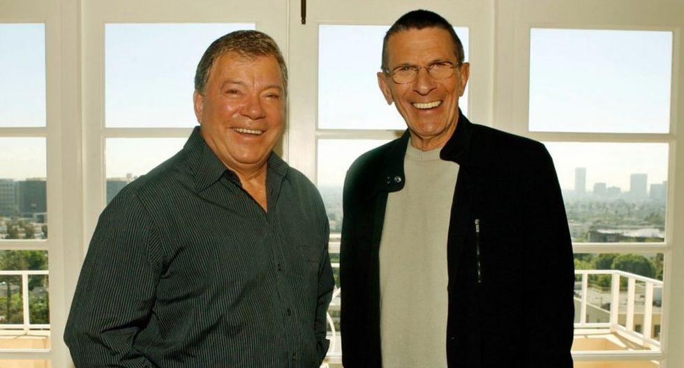 Los actores mantuvieron una gran amistad dentro y fuera del set de 'Star Trek'. (Foto: AP)
