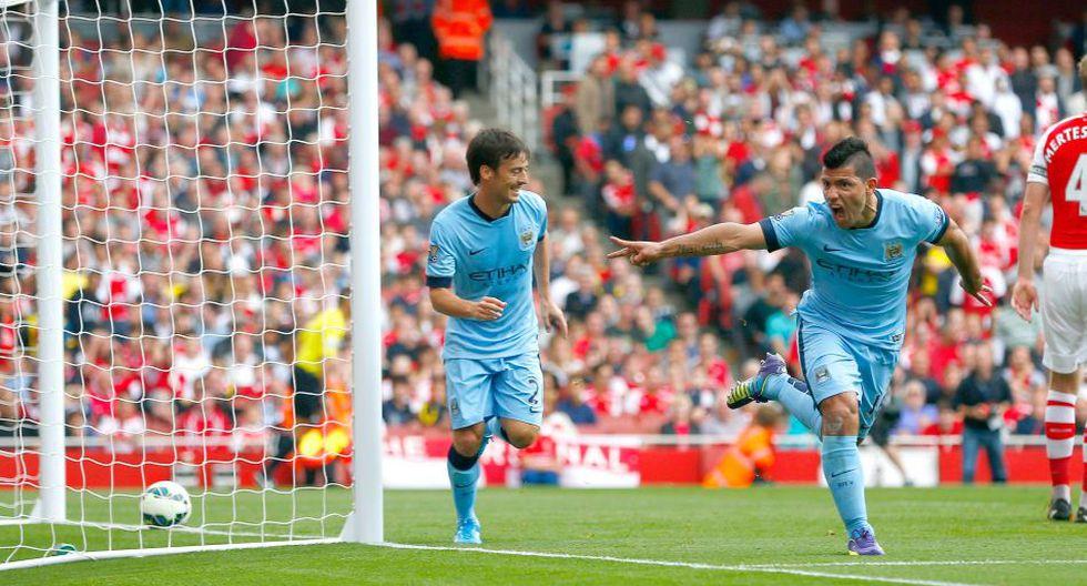 Las imágenes del partidazo entre Arsenal y Manchester City - 8
