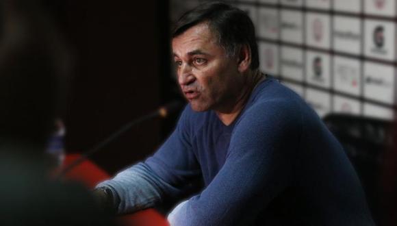 Carlos Bustos llegó a la San Martín en el 2018. (GEC)