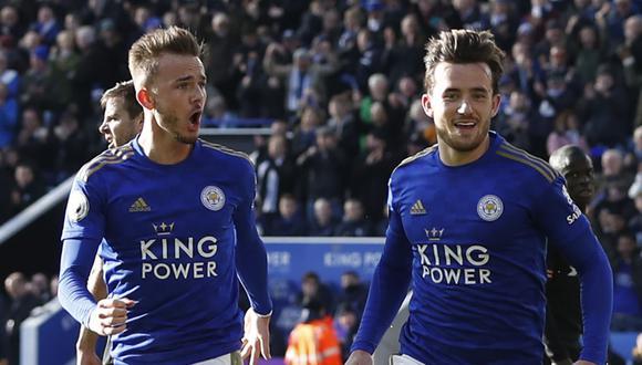 Leicester City enfrentará al Norwich City por la Premier League. Conoce los horarios y canales de todos los partidos de hoy, viernes 28 de febrero. (AFP)