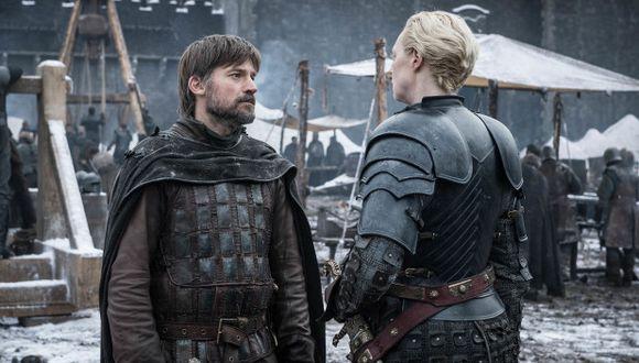 Jaime Lannister decidió dejar la vida en el norte y al lado de Brienne de Tarth en el último episodio de Game of Thrones. (Foto: HBO)