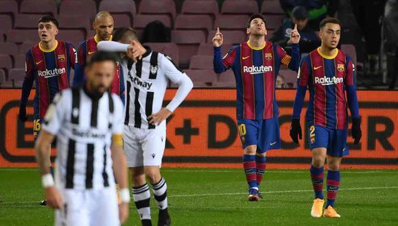 La lista de convocados para el Barcelona vs. Real Sociedad. (Foto: AFP)