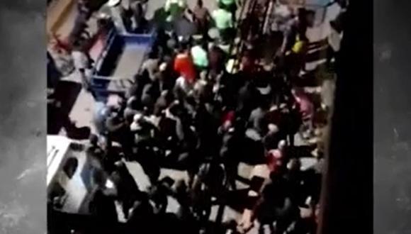 La Policía Nacional investiga el caso. (Captura: América Noticias)