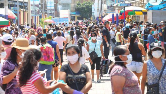 Essalud: mapa de calor reporta incremento de contagios en 16 distritos de Lima y el Callao. (Foto: GEC)