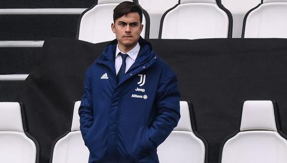 Paulo Dybala no juega un partido oficial con Juventus desde el 10 de enero. (Foto: AFP)