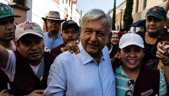 Andrés Manuel López Obrador (AMLO) acuerda mejorar relación con empresarios tras meses de enfrentamientos. (Foto: Bloomberg)