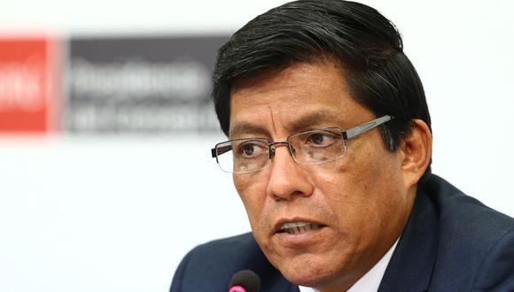 Vicente Zeballos ratificó la disposición del Poder Ejecutivo para facilitar las indagaciones en el caso Mirian Morales. (Foto: GEC)