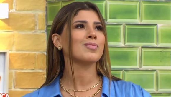 Yahaira Plasencia no cierra las puertas al amor y advierte por si la ven en un ampay con una nueva persona. (Foto: Captura América TV).