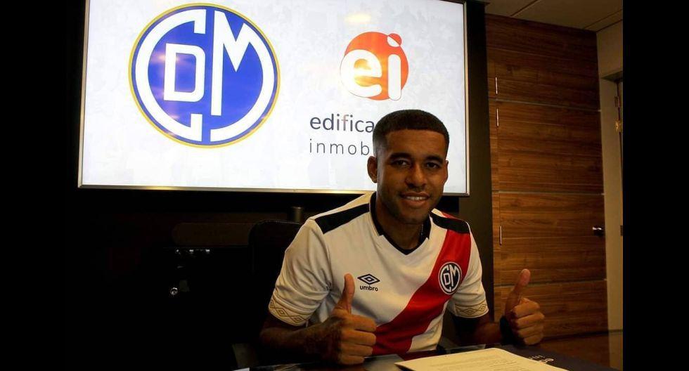 David Díaz. (Foto: Deportivo Municipal)