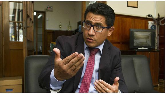Amado Enco, dirige la Procuraduría Anticorrupción que viene gestionando la extradición del exjuez supremo César Hinostroza, quien se encuentra en España.