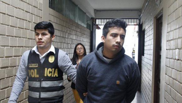 Álex Manuel Álvarez Silvera (20) deberá cumplir una pena de 3 años y 8 meses de prisión. (Foto: Poder Judicial)