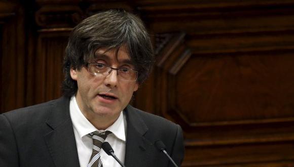 Carles Puigdemont es el nuevo presidente de Cataluña