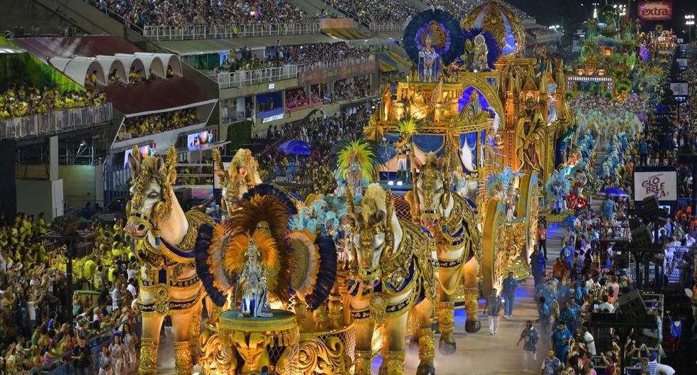 El tradicional desfile de las escuelas de samba del Carnaval de Río se realizará entre el 23 y 24 de febrero. (Foto: AFP)