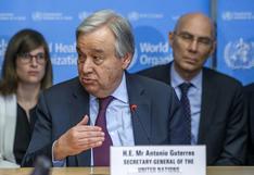 """Si el mundo enfrenta el clima como ha hecho con el COVID-19, """"temo lo peor"""": dice el jefe de la ONU"""