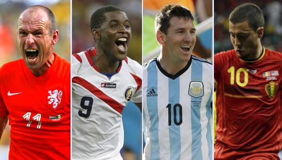 Guía TV de Brasil 2014: hoy continúan los cuartos de final