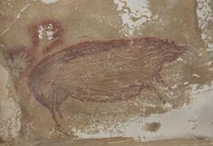 ¿Dónde se encuentra la obra rupestre más antigua del mundo?