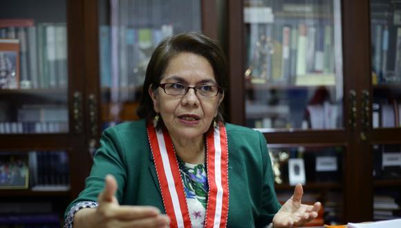 La fiscal Bersabeth Revilla tiene más de 210 investigaciones a su cargo. Este martes dispuso abrir una investigación al procurador del Caso Odebrecht, Jorge Ramírez. (Foto: Jesús Saucedo/ GEC)
