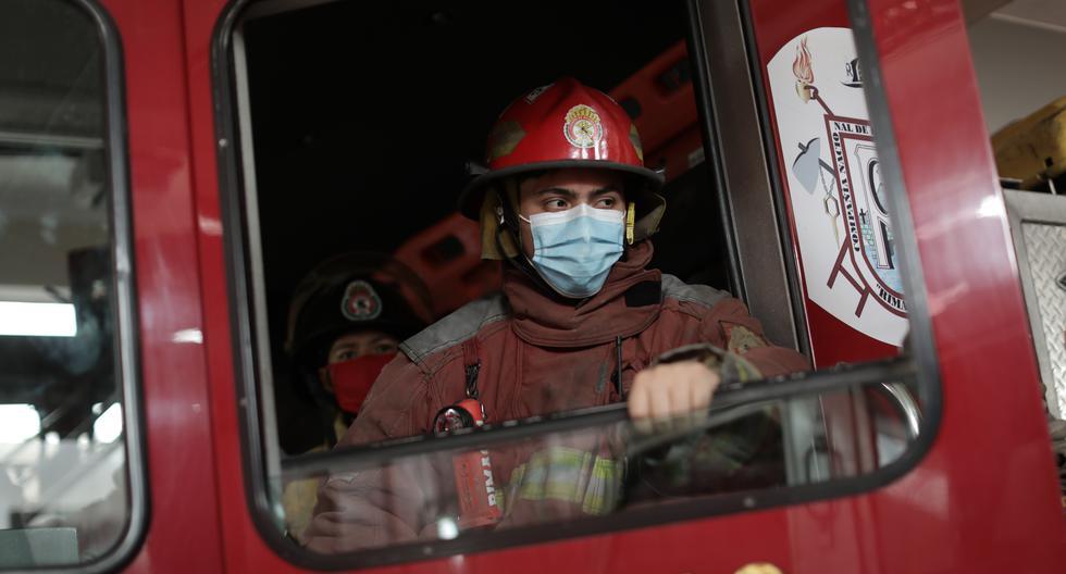 David Gonzales, bombero de 21 años que contrajo el coronavirus y permaneció internado por varios días en la Villa Panamericana. (Foto: Anthony Niño - GEC)