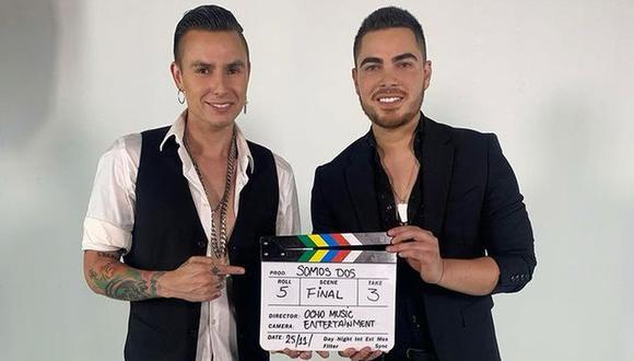 """Álvaro Rod estrena la versión balada de """"Somos dos"""", canción que grabó junto a Farik Grippa. (Foto: @alvarorodmusic)"""