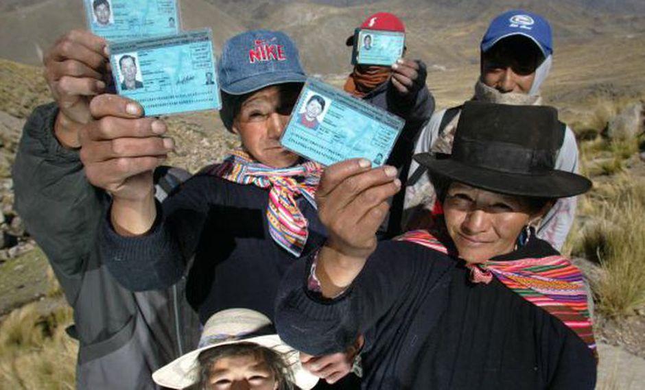 Los electores que hayan perdido o les hayan robado el DNI, están a tiempo de solicitar un duplicado. (Foto: El Comercio)