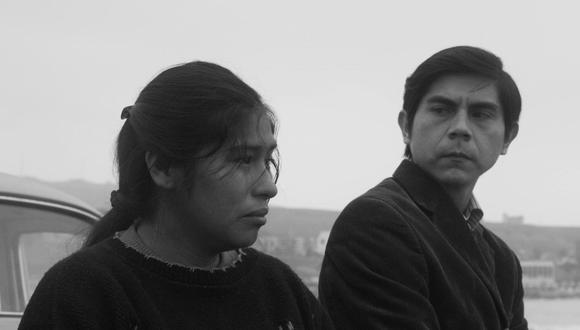 """""""Canción sin nombre"""", de la cineasta peruana Melina León, ganó un concurso del Ministerio de Cultura para poder concretarse. Ahora estará en el Festival de Cannes. Aquí  los actores Pamela Mendoza y Tommy Párraga."""