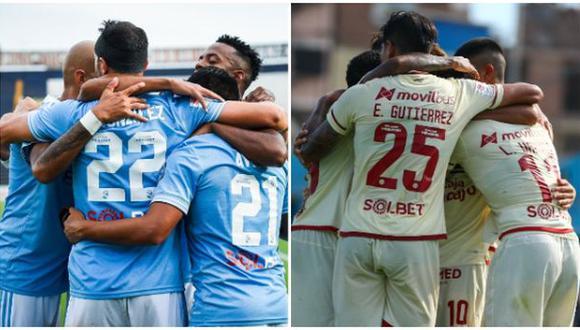 Universitario y Cristal, los dos equipos peruanos que están en la Libertadores, chocan este domingo. (Foto: Sporting Cristal / Universitario)