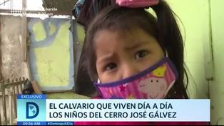 VMT: crisis, necesitad y pandemia azotan los cerros de José Gálvez