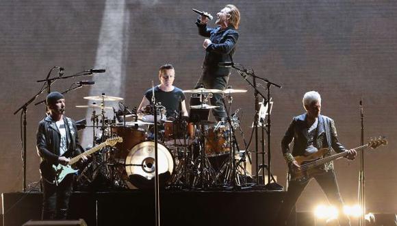 La banda irlandesa U2. (Foto: Agencias)