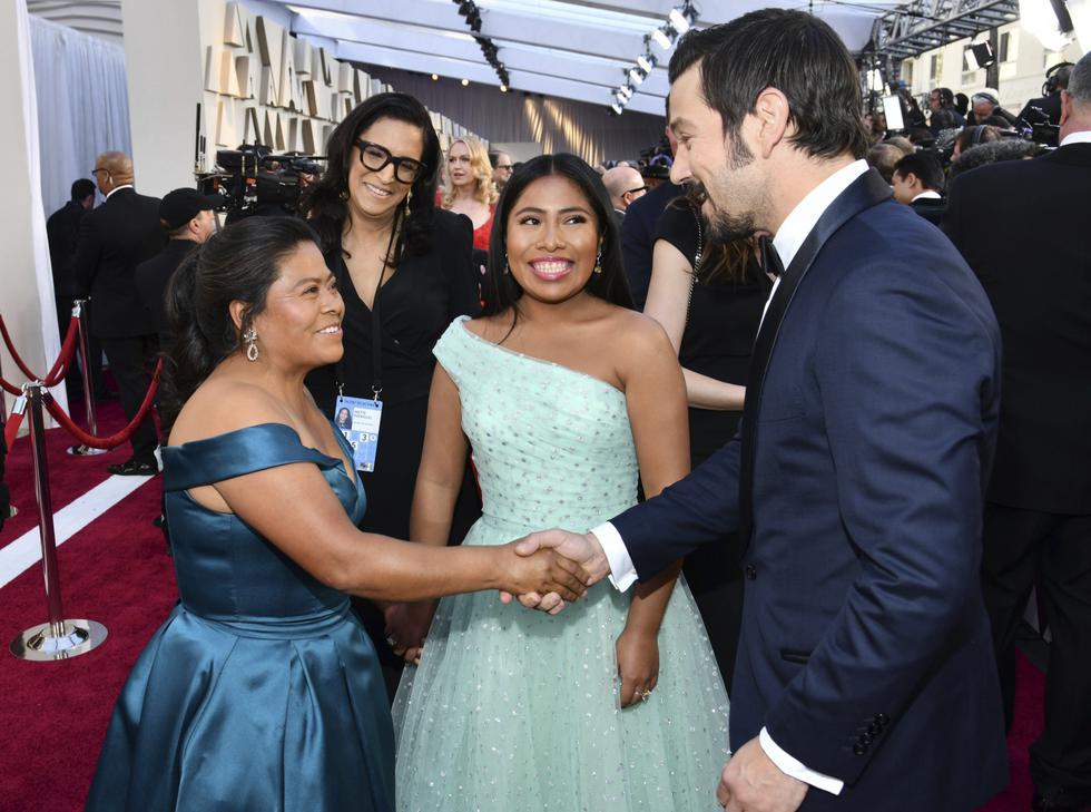 Diego Luna en los premios Oscar 2019. (Foto: AFP/EFE)