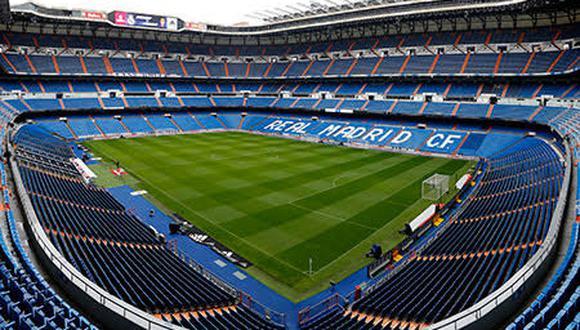 Real Madrid continúa con los trabajos en el Santiago Bernabéu. (Agencias)