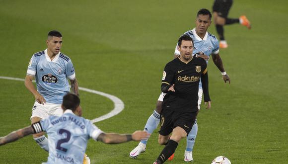 Barcelona se impuso de visita ante Celta de Vigo en su segundo cotejo de la presente temporada en la Liga española. El peruano Renato Tapia fue titular en el cuadro local. (Foto: AP)