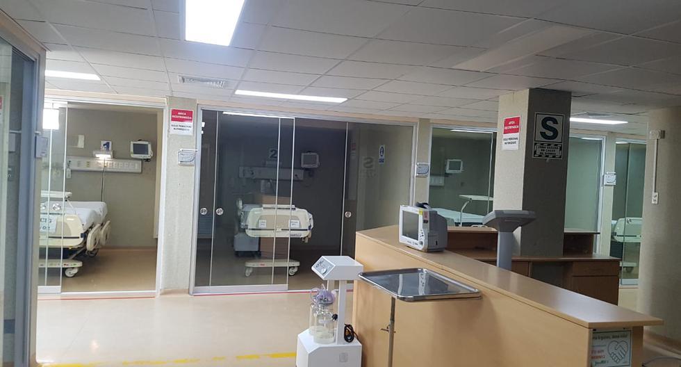 Hoy la sala UCI COVID-19 ya cuenta con 54 cubículos con camas equipadas y un sistema de presión negativa que permitirá salvar vidas.