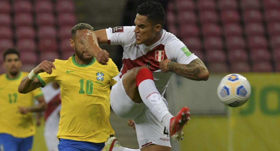 Anderson Santamaría fue mundialista con la selección peruana en Rusia 2018. Suma cuatro partidos en las Eliminatorias Qatar 2022. (Foto: AFP)