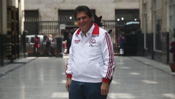 Juan Carlos Zurek informó este lunes que un sector de Somos Perú ha solicitado al expresidente y candidato al Congreso, Martín Vizcarra, que se aparte del partido. (Foto: GEC / Archivo)