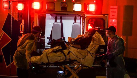 Más de 1.400 mexicanos han muerto en Estados Unidos por coronavirus. (CHANDAN KHANNA / AFP).