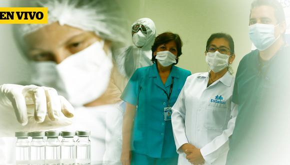 Vacunación Nacional Covid-19 en Perú: últimas noticias la aplicación de las primeras dosis de vacuna Sinopharm (Foto: El Comercio)