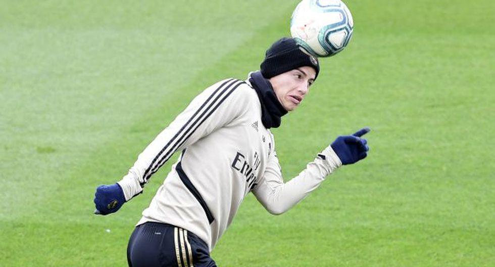James Rodríguez (28 años, contrato hasta 2021) es el jugador a veneder al final de temporada. Sino, se irá a costo cero en 2021. (Foto: AFP)