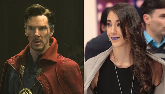 Benedict Cumberbatch se sorprendió por look de Chiara Pinasco