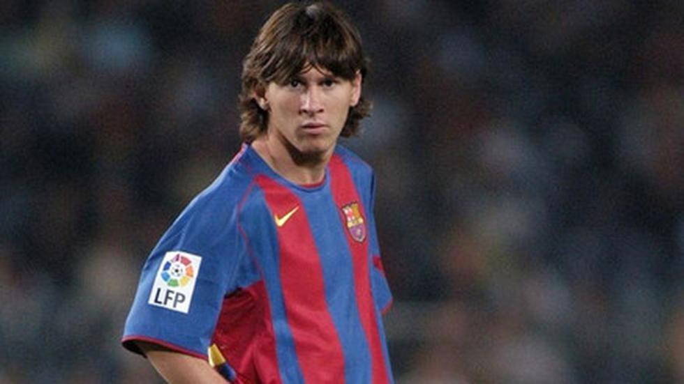 2004/2005: Lionel Messi debutó el 16 de octubre de 2004 con diecisiete años, tres meses y veintidós días. (Foto: AFP)