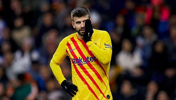Gerard Piqué fue víctima de ofensivos cánticos contra su familia en el Barcelona-Espanyol por LaLiga. (Foto: Agencias)
