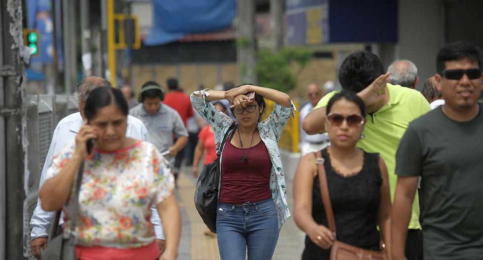 Hoy el índice máximo UV en Lima alcanzará el nivel 15, especialmente cerca del mediodía, advirtió el Senamhi. (Foto: GEC)