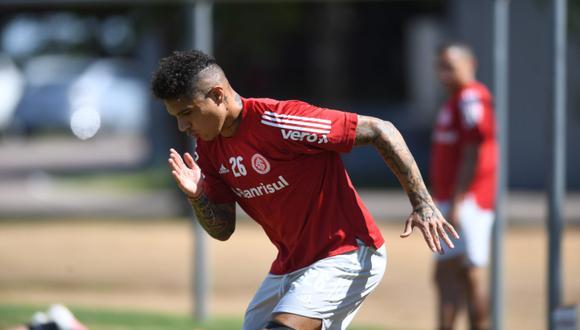 Paolo Guerrero se encuentra trabajando con intensidad para poder volver a las canchas cuando antes | Foto: Internacional de Porto Alegre