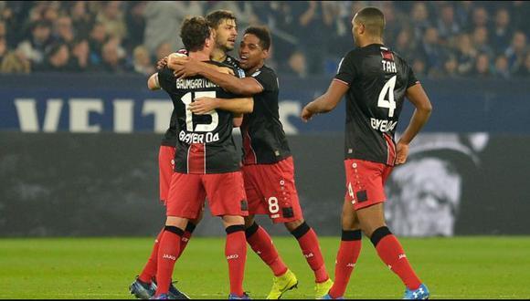 Bayer Leverkusen (5°) vs. Mainz 05 (11°) se enfrentan por la Bundesliga 2018- 2019.