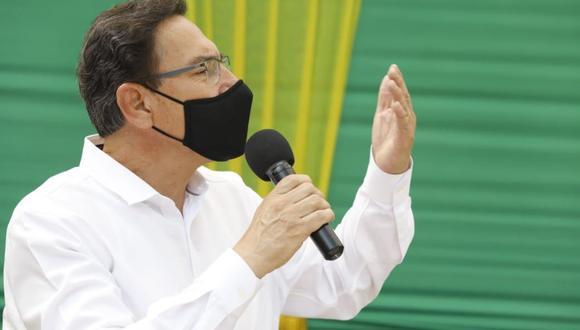"""""""Prescribir no sería lo más conveniente, por lo que el TC debe tomar la decisión más adecuada que se ajuste a ley"""", señaló el presidente Vizcarra. (Foto: Presidencia)"""