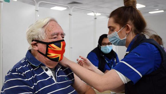Coronavirus en Reino Unido | Últimas noticias | Último minuto: reporte de infectados y muertos hoy, domingo 28 de febrero del 2021 | Covid-19. (Foto: JOE GIDDENS / POOL / AFP).