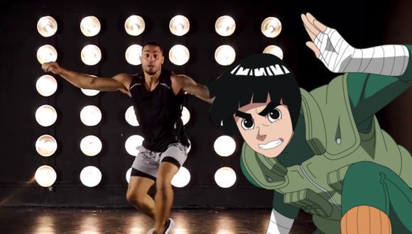 Un video viral que muestra cómo se vería Rock Lee en la vida real enloqueció a los fans de Naruto de todo el mundo. | Crédito: brknsergio / Instagram.